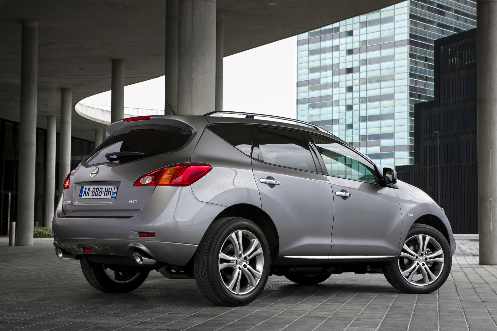 2011 nissan murano Nissan Murano scheduled to arrive on Indian shores in Late 2011