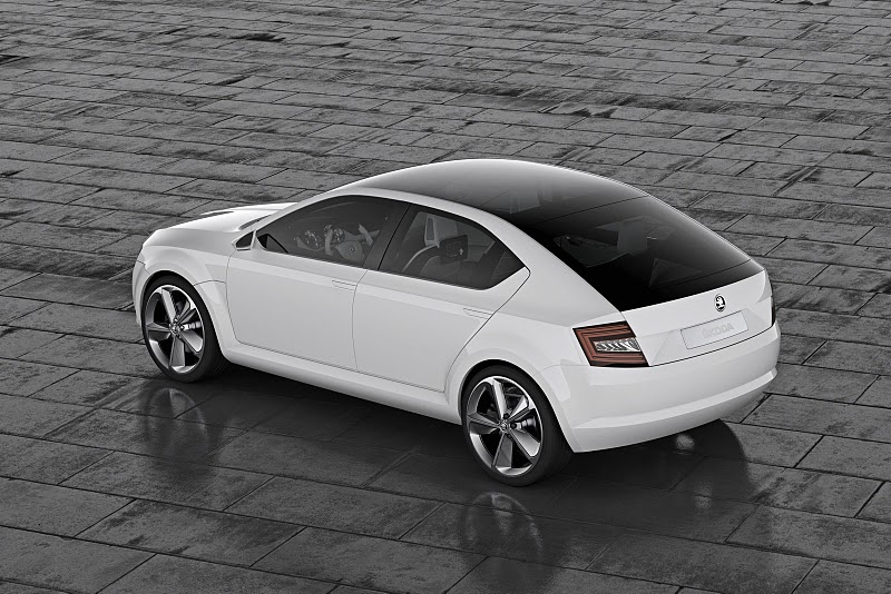 2011 skoda visiond concept 4 The 2011 Skoda VisionD Concept Car – Better Outlook with Aerodynamic Features
