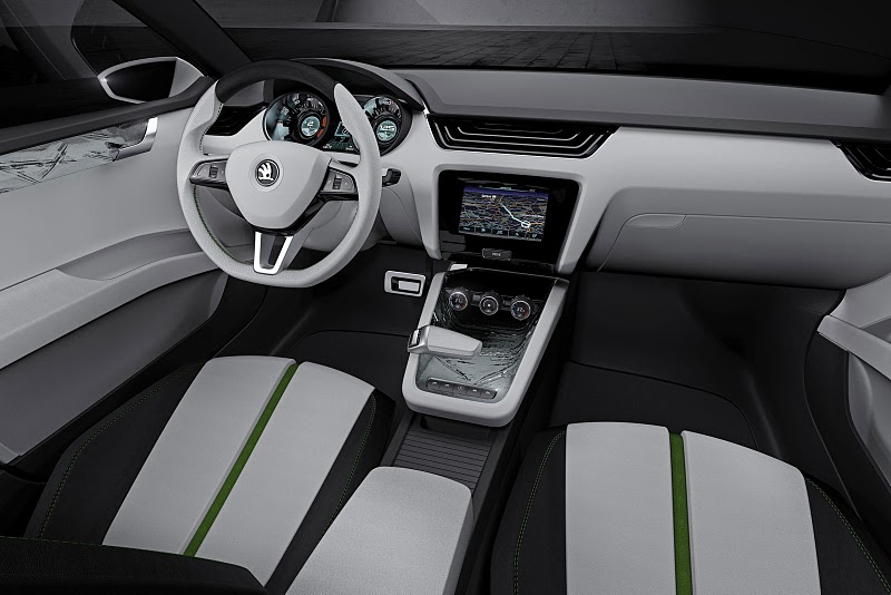2011 skoda visiond concept The 2011 Skoda VisionD Concept Car – Better Outlook with Aerodynamic Features