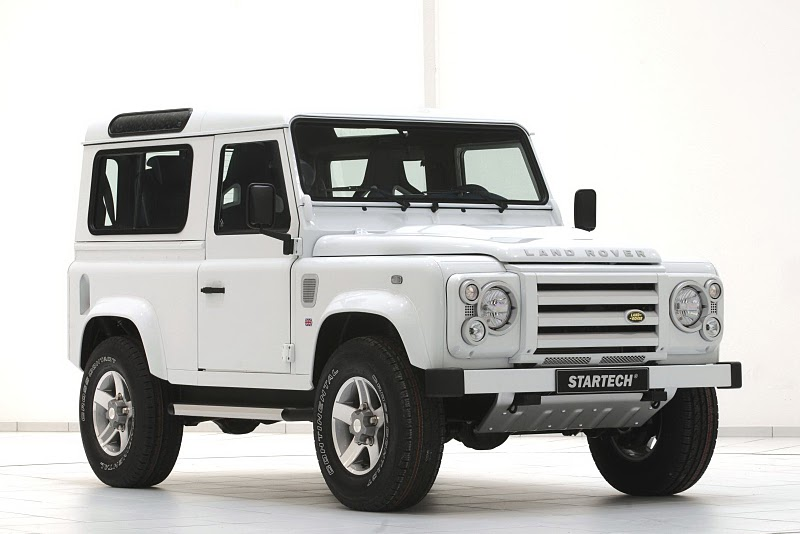 2011 startech land rover defender 90 yachting edition The Yachting Edition of 2011 Startech land Rover Defender 90