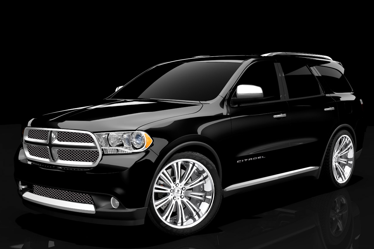 2011 dodge durango citadel black tan1 The 2011 Dodge Durango Citadel Black & Tan Sophisticated Vehicle