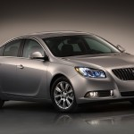 2012 Buick Regal with eAssist fuel-saving technology. (2/8/2011)