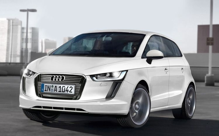 2015 audi a2 front illustration The Futuristic 2015 Audi A2 Version  Runs Fast  Eco Friendly Easy to Drive