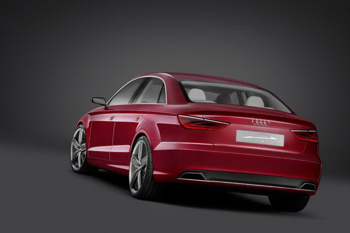 Audi A3 Saloon Concept 3 The Photos of Audi RS 3 Sedan Car released