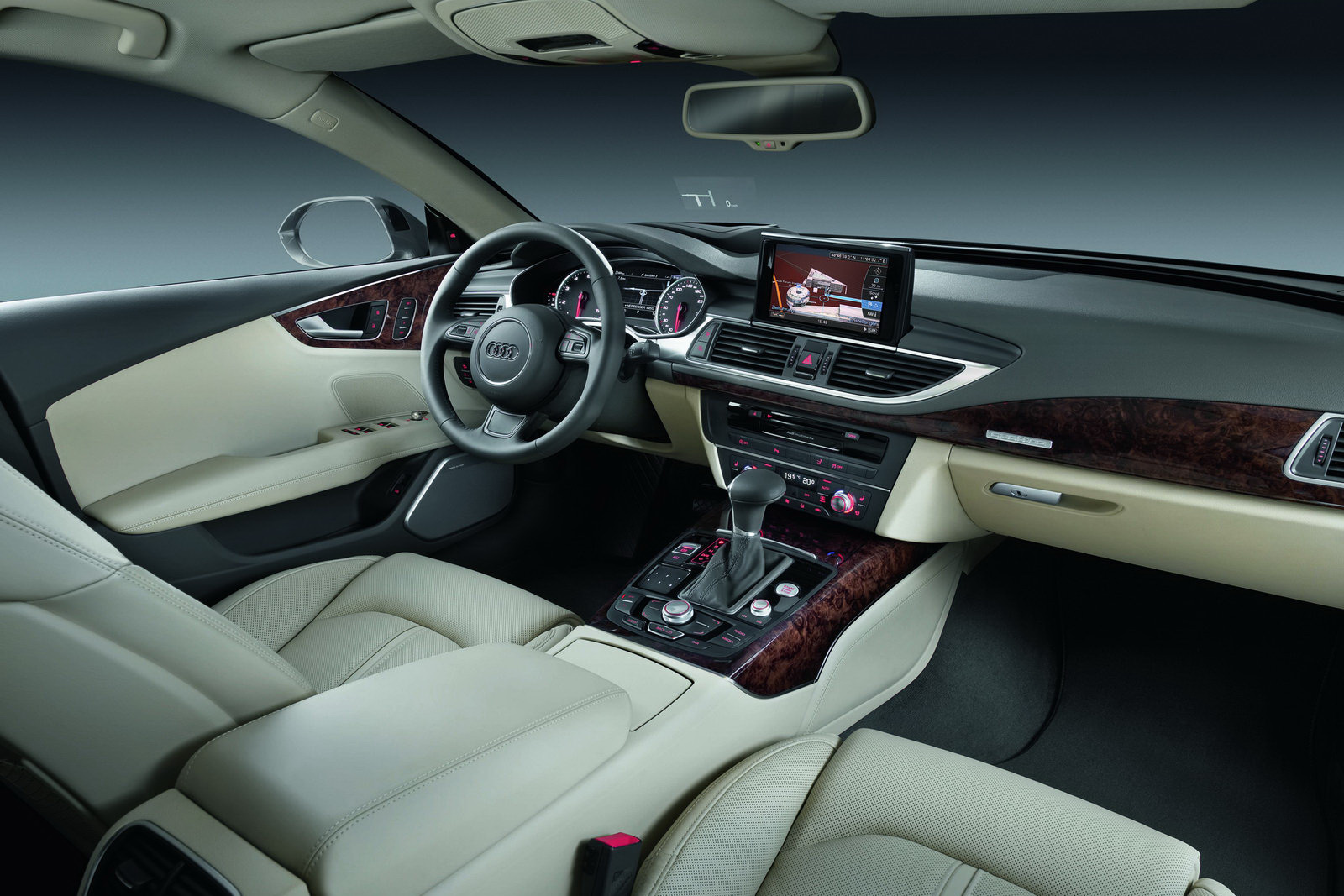 Audi A7 Sportback 11 New Audi A7 Sportback Details Announced Along With 106 High Res Photos