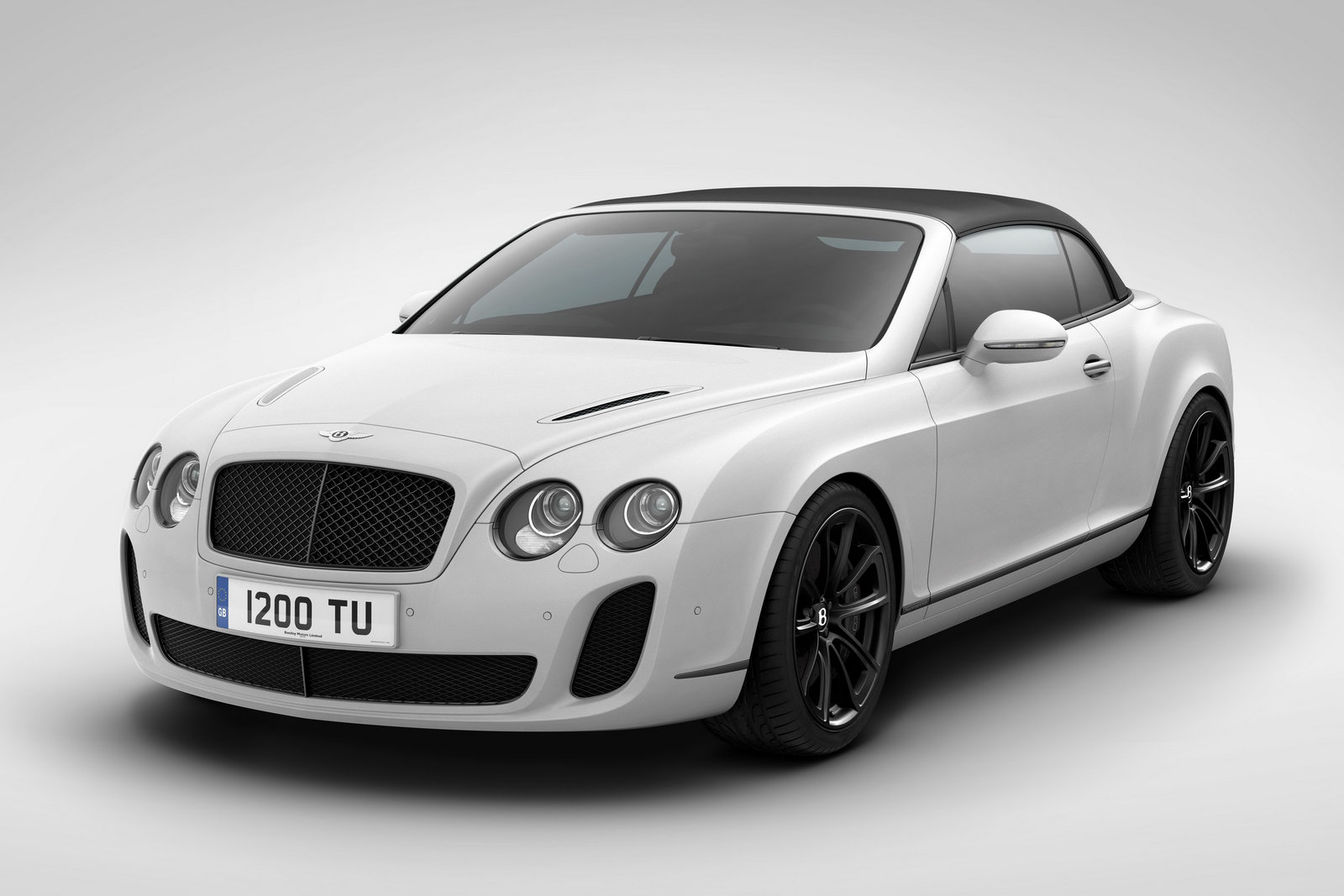 Bnetley Continental SE 10 Bentley Supersports Special Edition Convertible celebrating Ice Speed Record