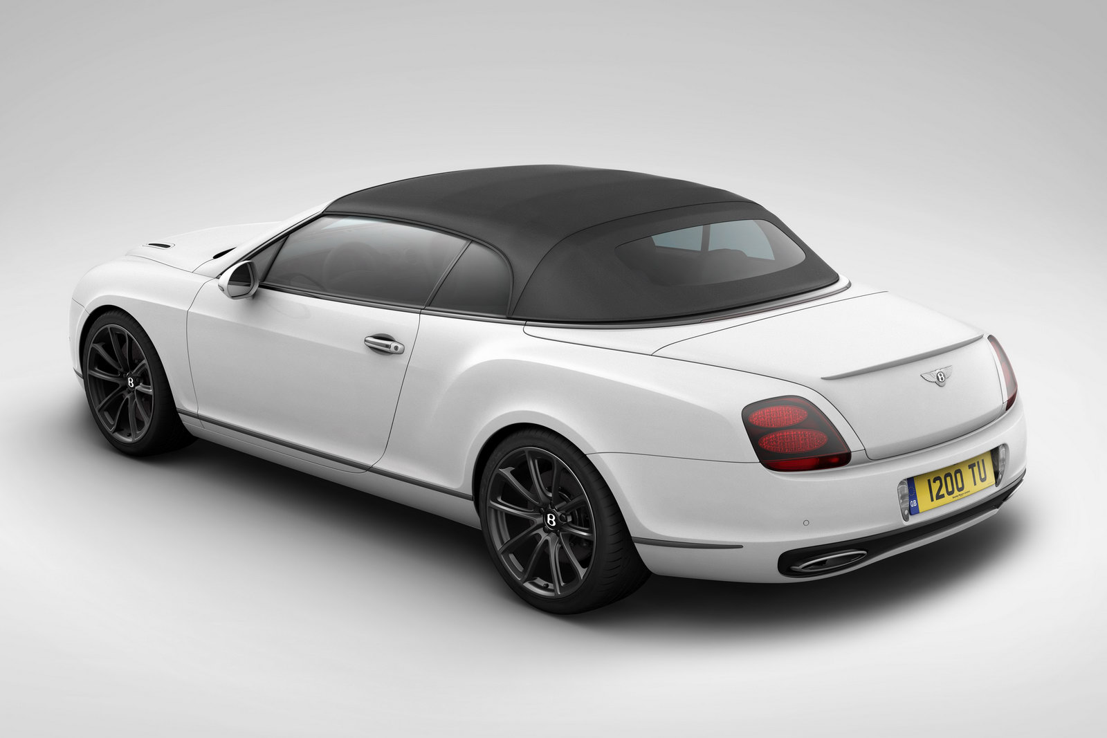 Bnetley Continental SE 9 Bentley Supersports Special Edition Convertible celebrating Ice Speed Record