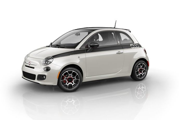 FIAT 500 colors One of the 500 US Spec 2012 Fiat 500 Prima Ediziones will cost $29,875