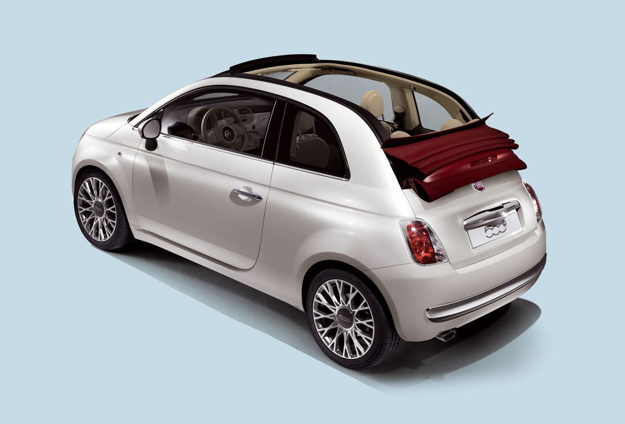 the all new fiat 500c version eco friendly. Black Bedroom Furniture Sets. Home Design Ideas