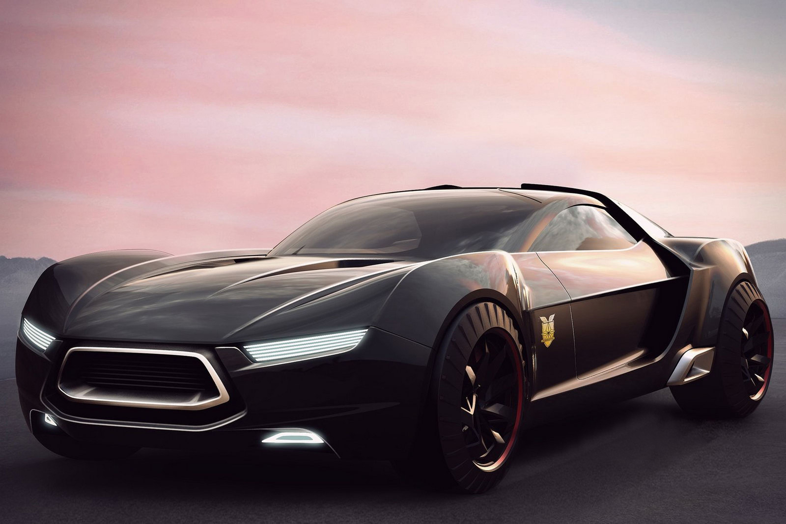 Ford Concept Int 3 Ford Released Snapshots of Revised XB Coupe Interceptor Car