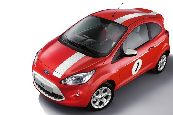 Ford Ka Grand Prix 5 Ford Ka Version with Low Carbon Emission Features