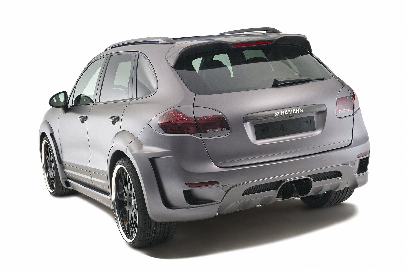 Hamann Guardian 9 The Hamann Guardian Based on the Porsche Cayenne Turbo