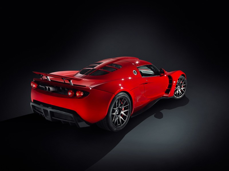 Hennessey Venom GT No3 Version 2 Hennessey Venom GT  No3 Version Red Colored and Dynamic