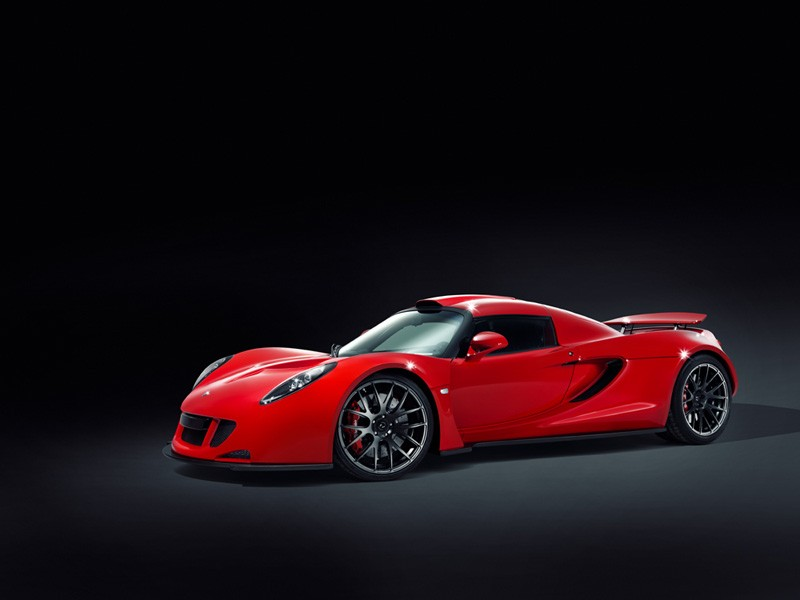 Hennessey Venom GT No3 Version 4 Hennessey Venom GT  No3 Version Red Colored and Dynamic