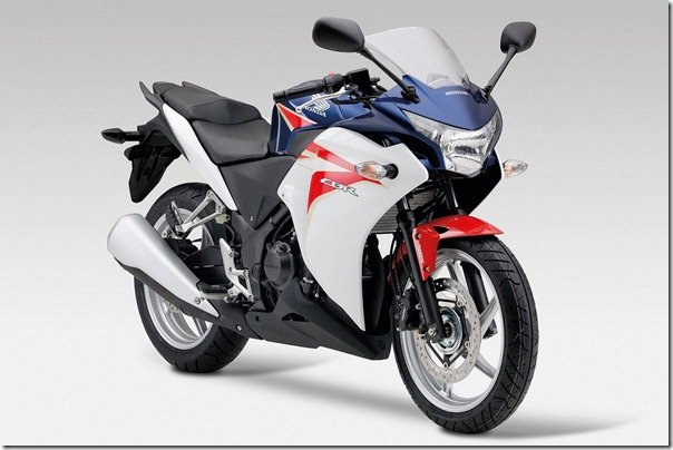 Honda CBR250R The Honda CBR250R Version offers a thrilling ride