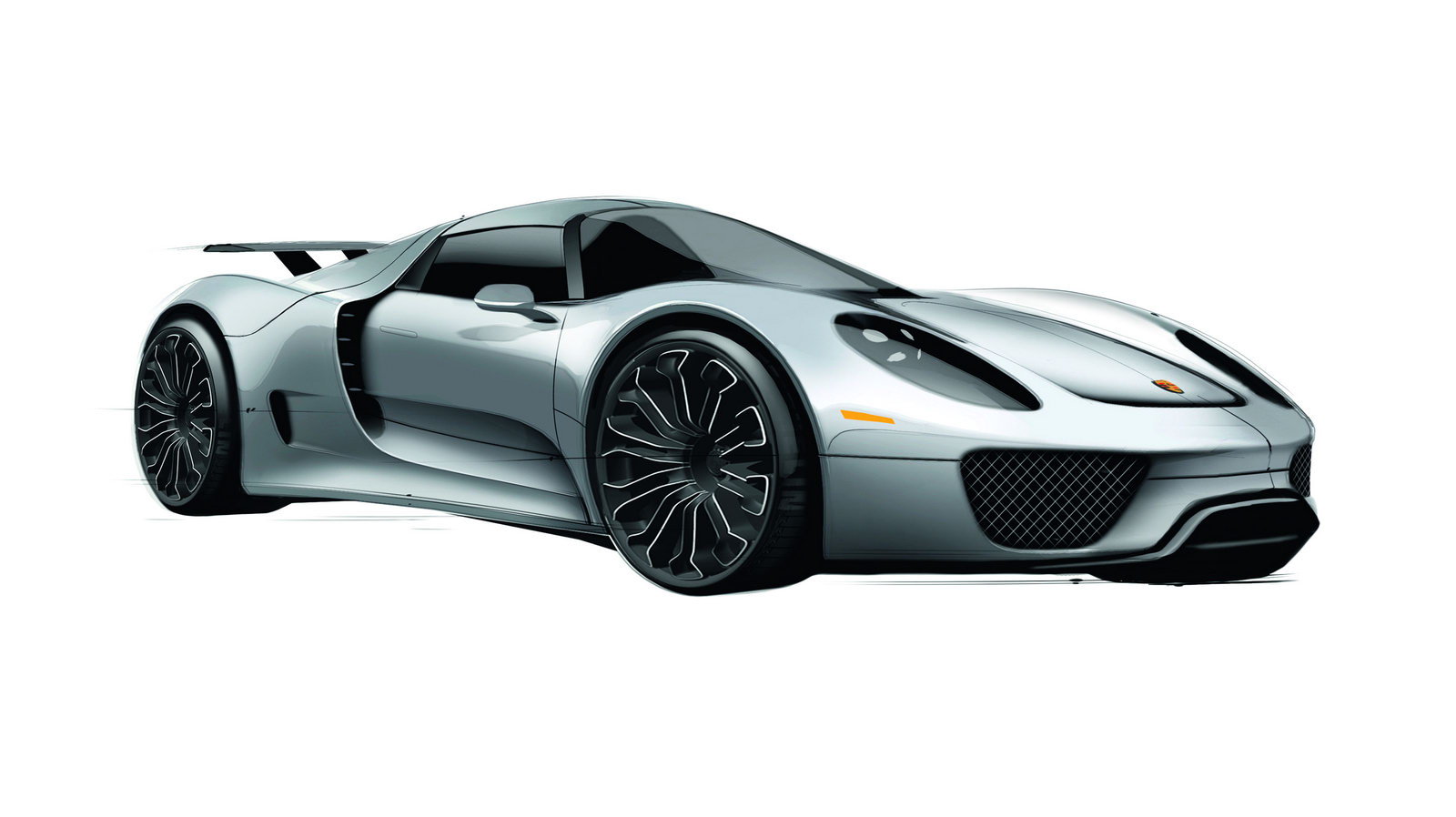 Porsche 918 Spyder 1 Porsche Announced Price Rate on 918 Spyder