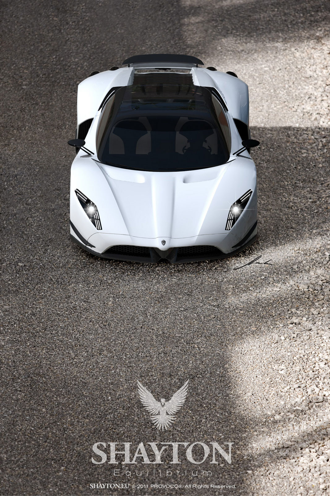 Shayton Equilibrium the new supercar from the Slovenian ...