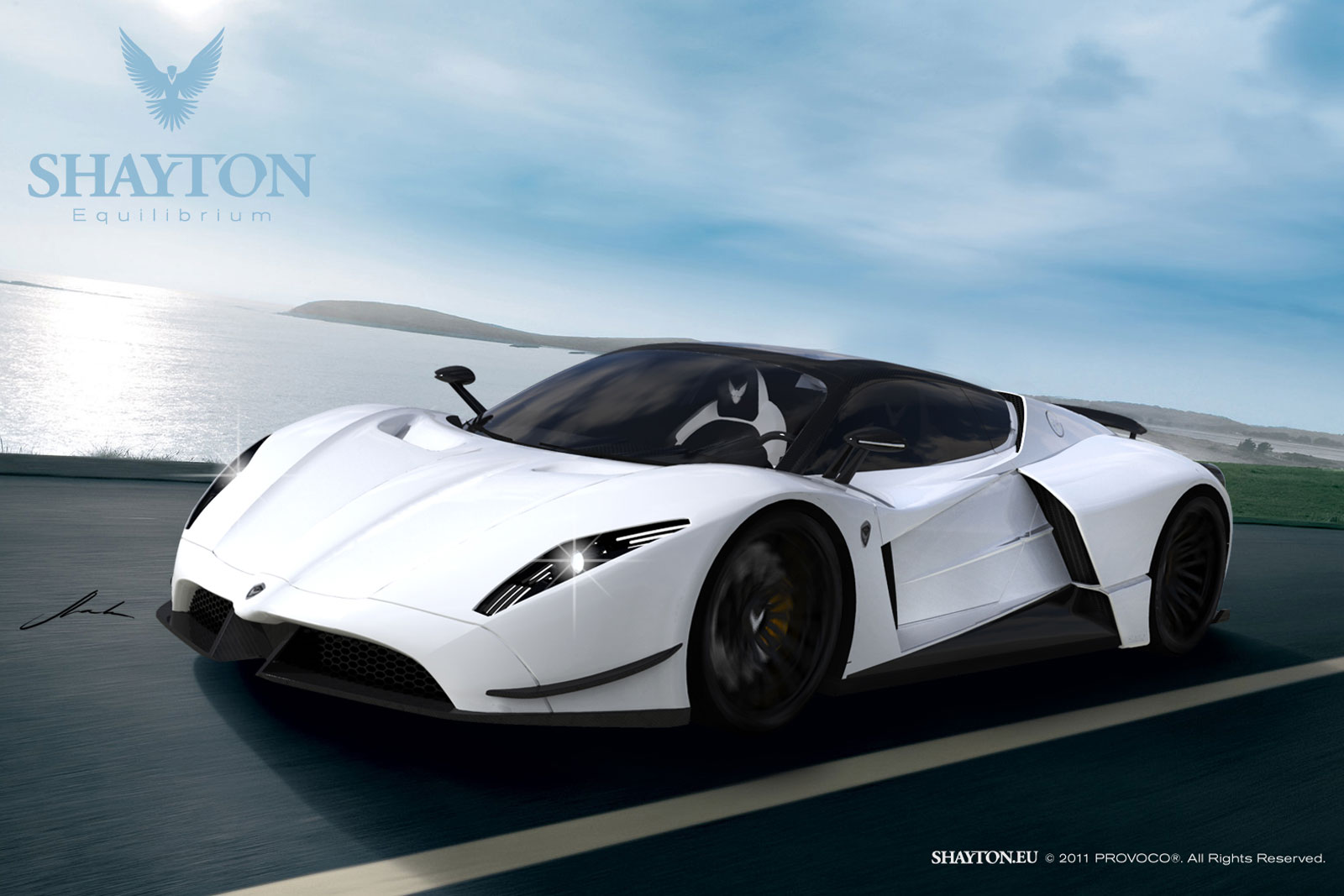 Shayton Equilibrium 15 Shayton Equilibrium the new supercar from the Slovenian Company