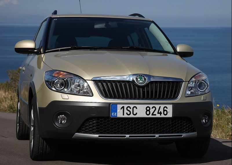 Skoda Fabia Scout 2011 5 Fabia Scout of Skoda, coming to India in end 2011