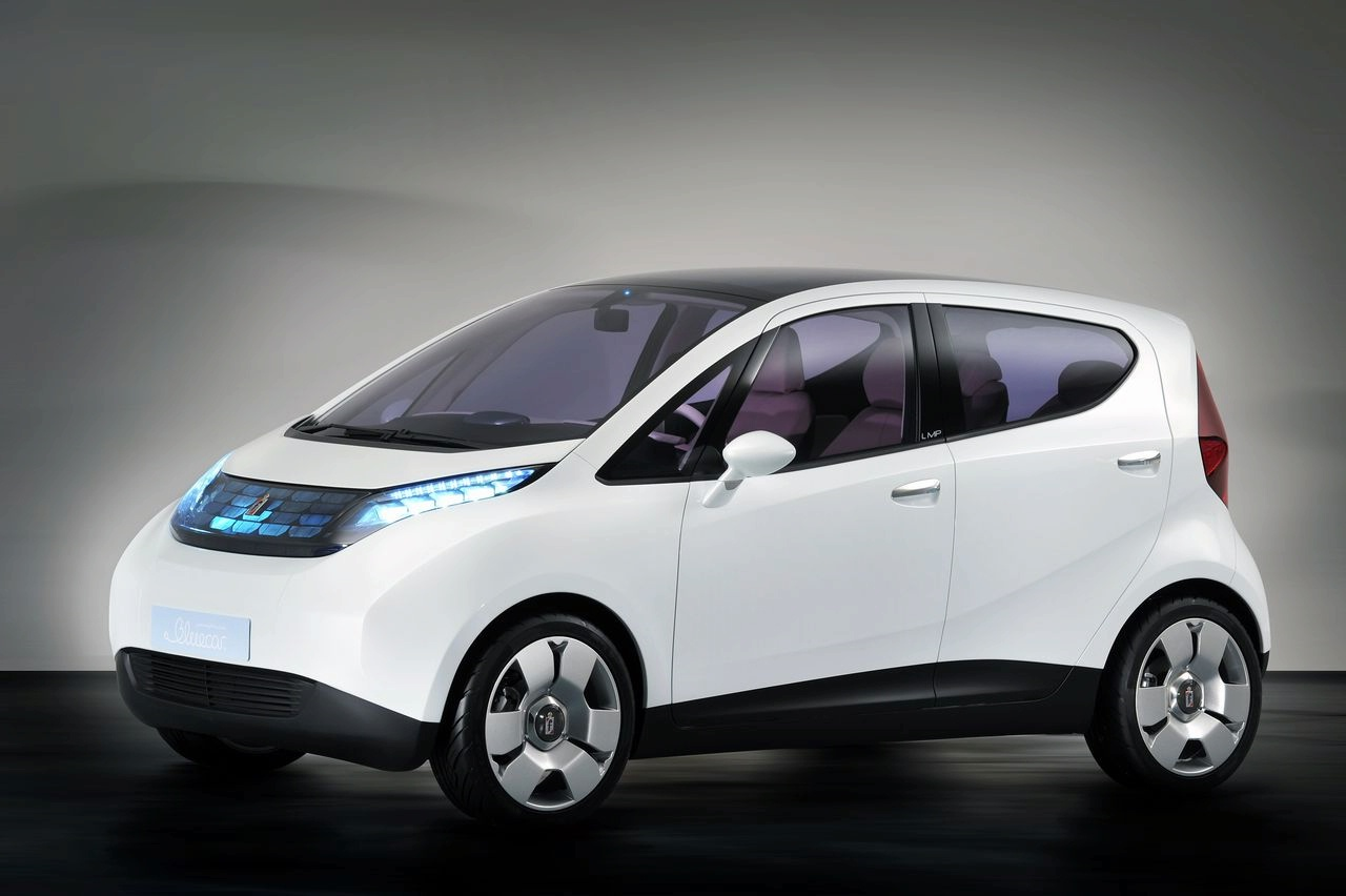 pininfarina blue car ev production version 2 Pininfarina family shares on sale       Tata may buy