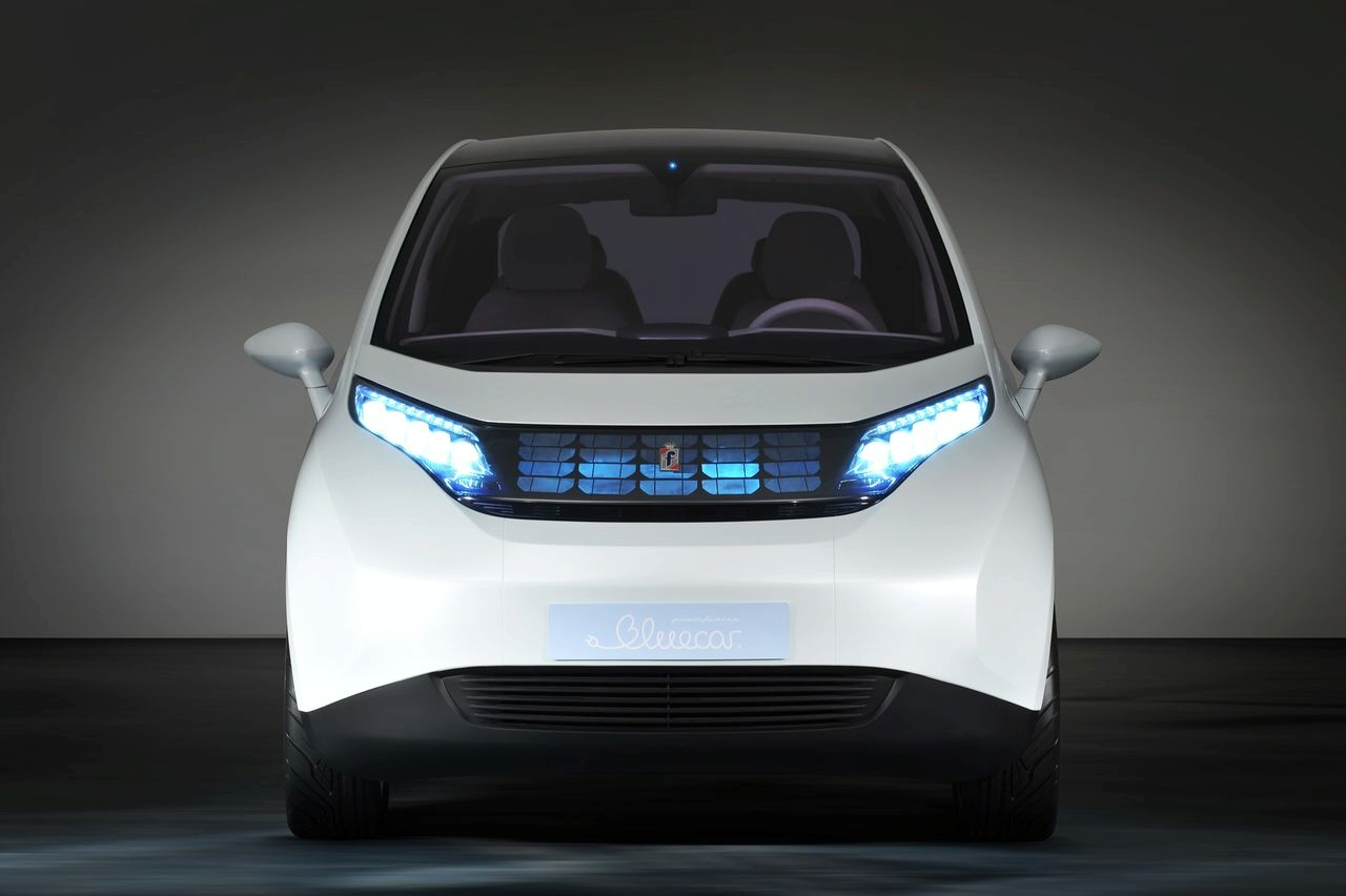 pininfarina blue car ev production version1 Production of the Pininfarina Bluecar is to start