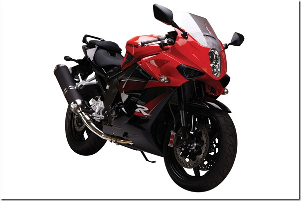 2009HyosungGT650Rfront thumb Hyosung 650R and ST7 Versions to Be Launched in India