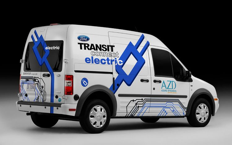 2011 Ford Transit Connect Electric 41 2011 Ford Transit Connect Electric Powered Cared Runs on EV Mode