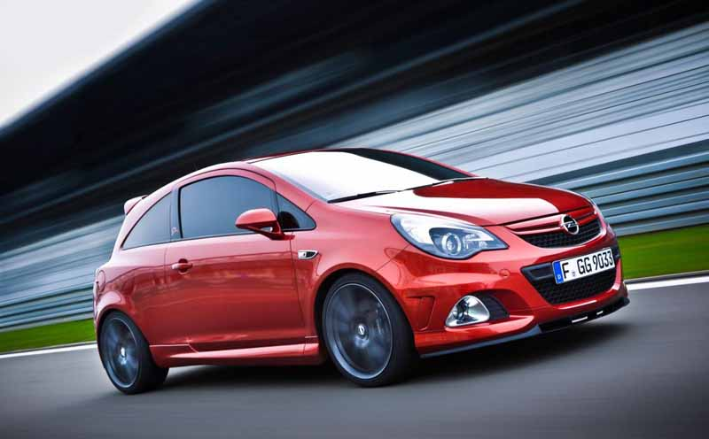2011 Opel Vauxhall Corsa OPC Nürburgring Edition Opel Corsa OPC Nurburgring Edition  More User Friendlyand Competent