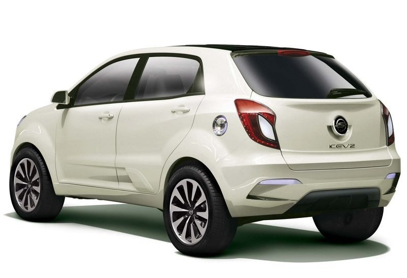 2011 Ssangyong KEV2 Concept 1 The Thrilling 2011 SsangYong KEV2 Concept model based on the Korando