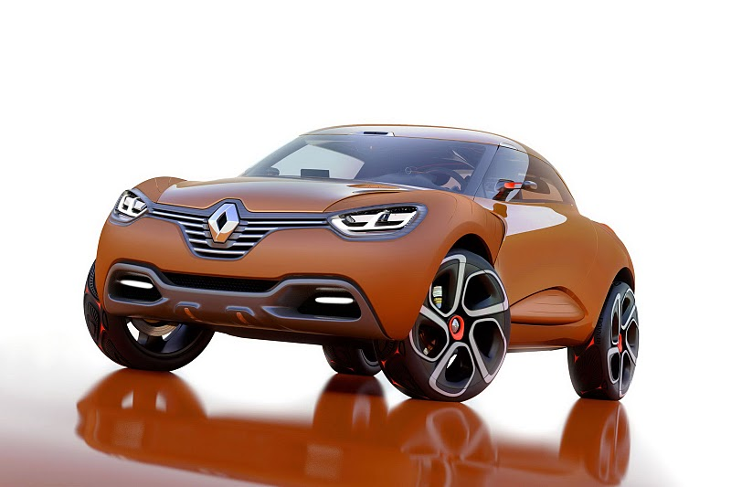 2011 renault captur concept 1 2011 Renault CAPTUR Concept  A Short Review