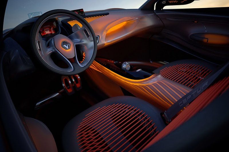2011 renault captur concept 2011 Renault CAPTUR Concept  A Short Review