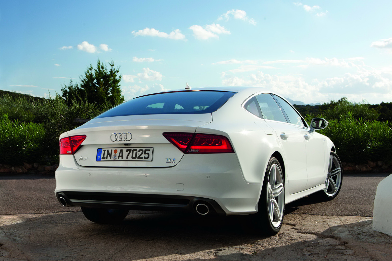 The Exciting 2012 Audi A7 Sportback Machinespider Com