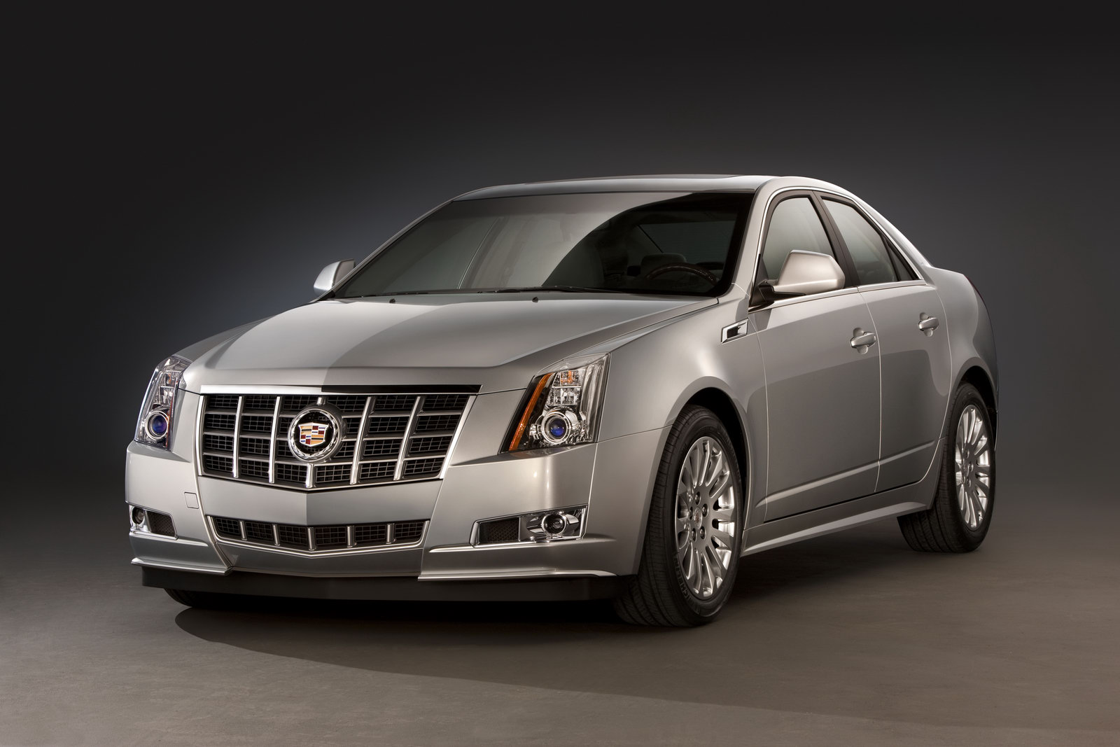 2012 cadillac cts sedan with new grille and more horsepower. Black Bedroom Furniture Sets. Home Design Ideas
