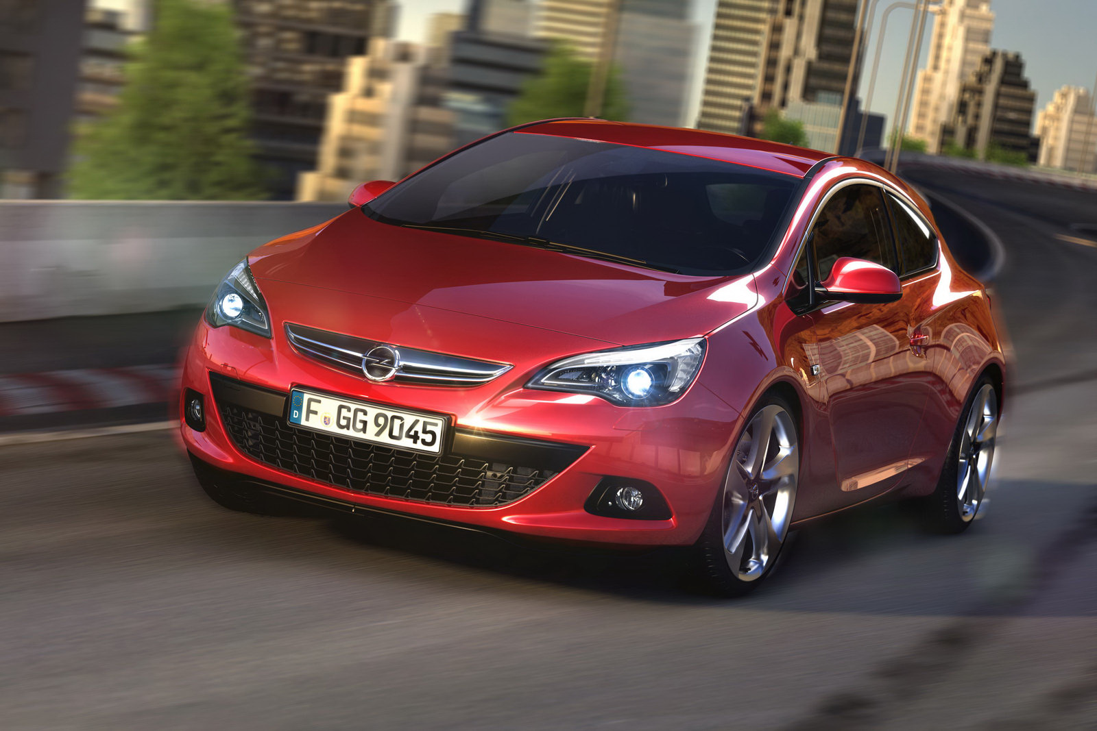 2012 Opel Astra GTC 1 2012 Opel Astra GTC Sport Hatch with Excellent Features