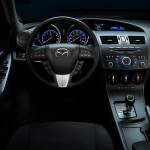 2012 Mazda3 SKYACTIV interior 6AT