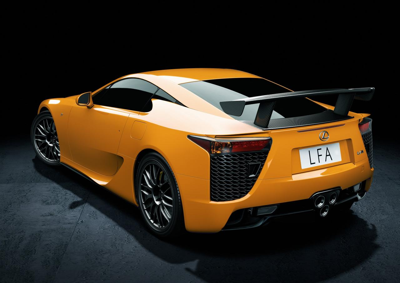 2012 Lexus LFA Nurburgring Edition 3 2012 Lexus LFA Nurburgring Edition  Energy Efficient