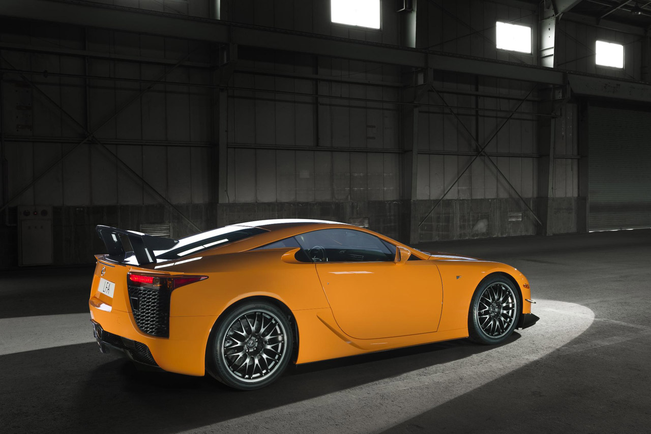 2012 Lexus Lfa Nurburgring Edition Energy Efficient