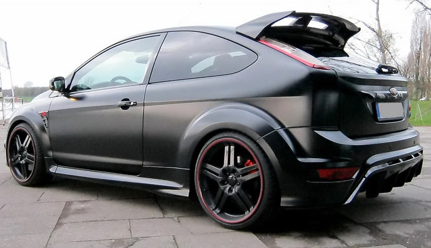 Anderson Germany Ford Focus RS Black Racing Edition 3 Anderson Germany Releases More Dynamic Ford Focus RS