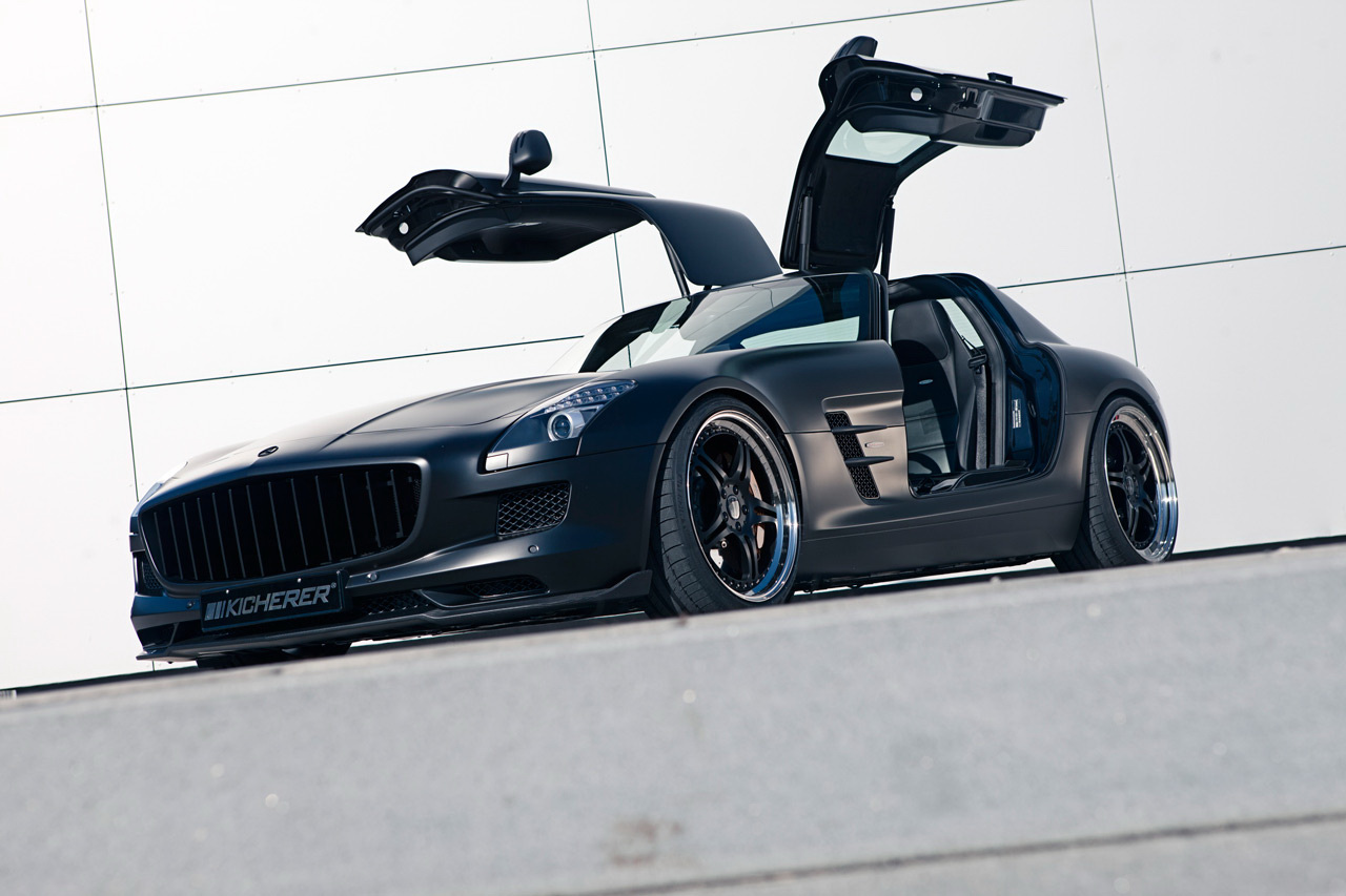 Kicherer SLS 63 AMG S GT 1 Kicherer SLS 63 AMG Super sport GT with an Upgraded Car Tuning Kit