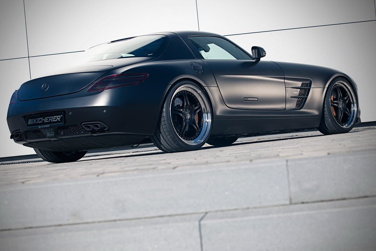 Kicherer SLS 63 AMG S GT 2 Kicherer SLS 63 AMG Super sport GT with an Upgraded Car Tuning Kit