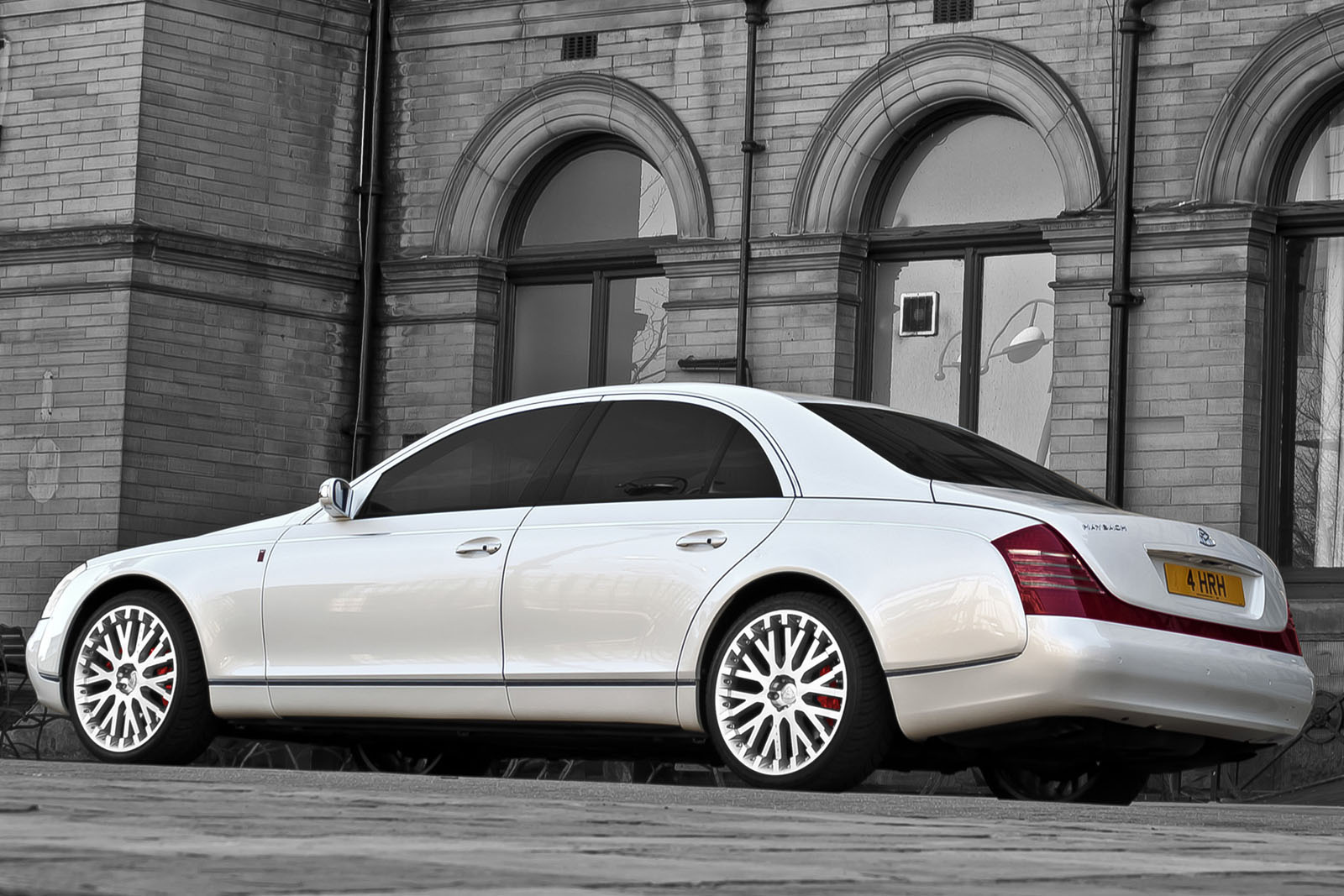 Project Kahn Maybach 57 2 Project Kahn Maybach 57 Edition with Eco Friendly Drive Train
