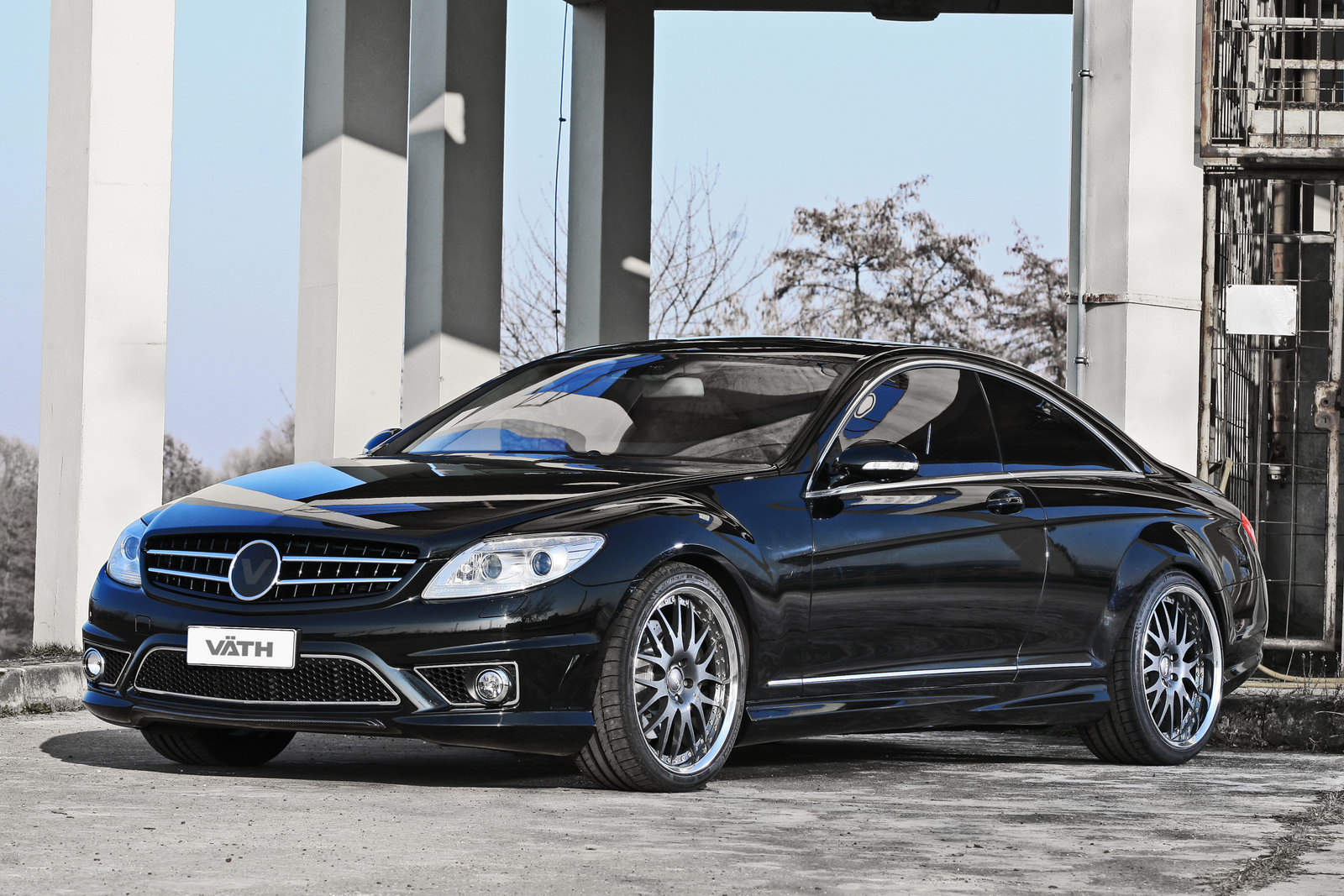 Vath to modify mercedes benz cl 500 coupe for Pictures of a mercedes benz