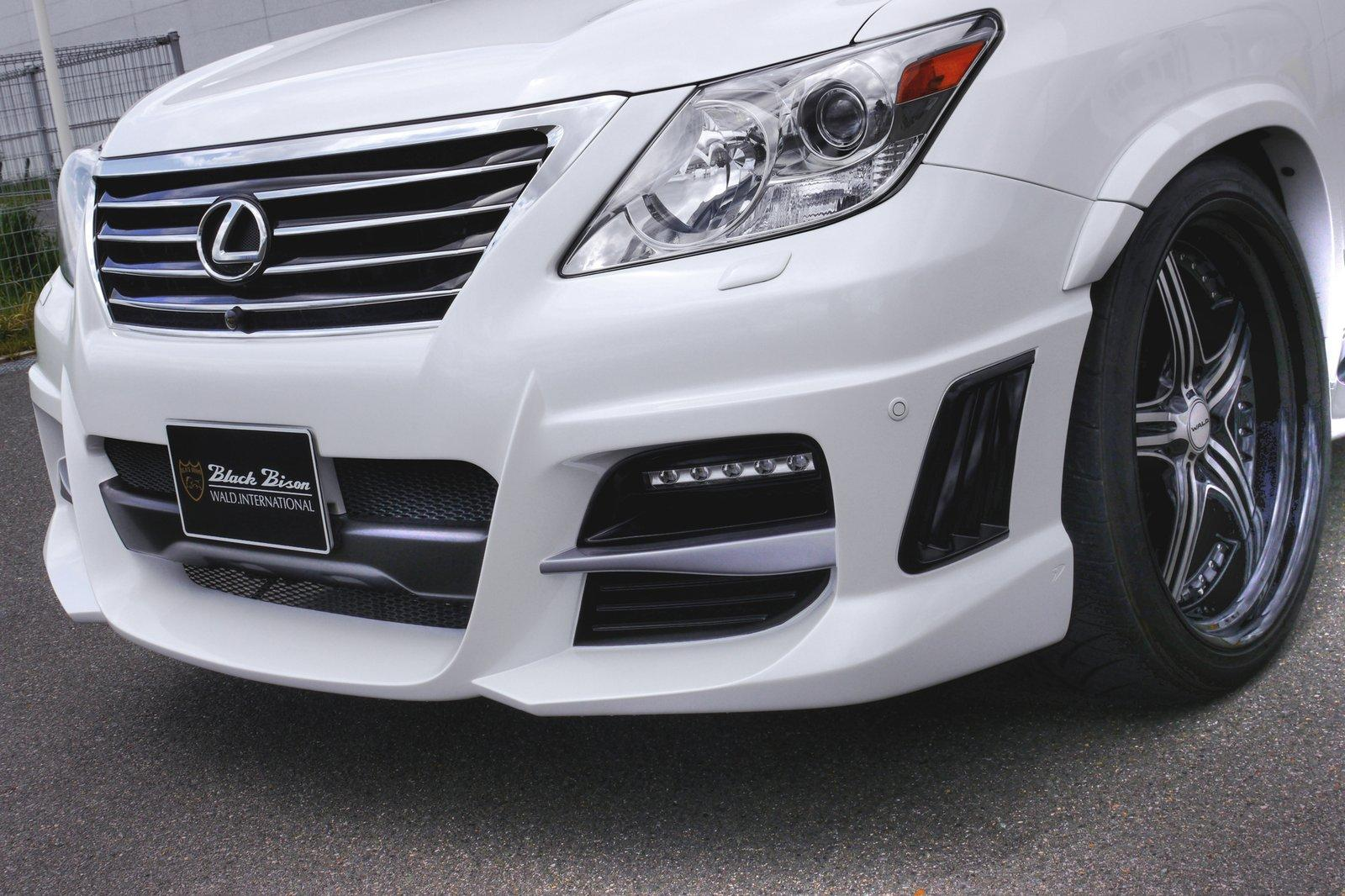 Lexus Lx570 With Wald Sports Line Black Bison Edition An