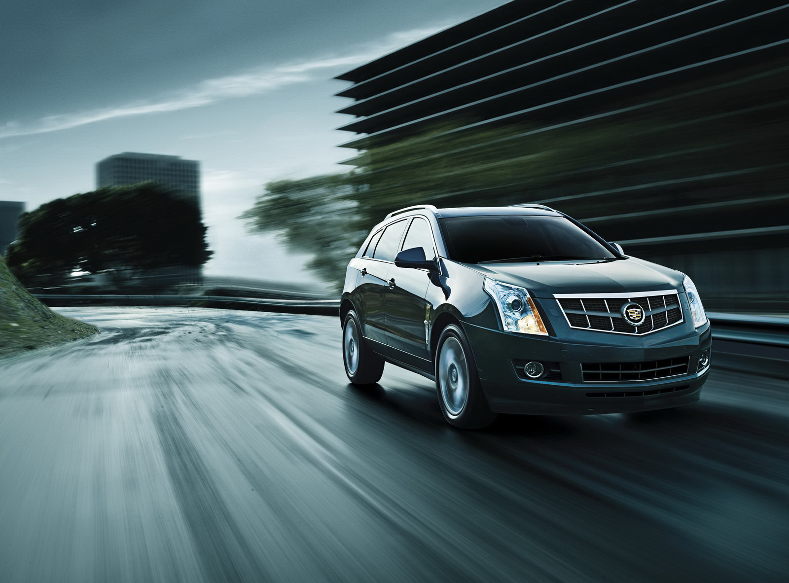 a 2012 Cadillac SRX Equipped with 3.6 liter V6 Engine and Infotainment Accessories