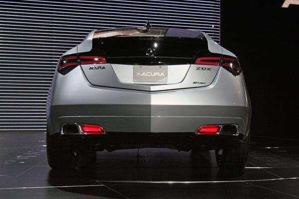2011 Acura ZDX 4 2011 Acura ZDX Technical Overview