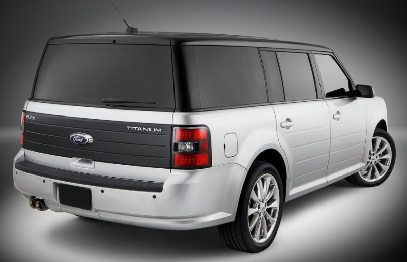 2011 Ford Flex 31 The 2011 Ford Flex and Titanium Crossovers with Unique Styling