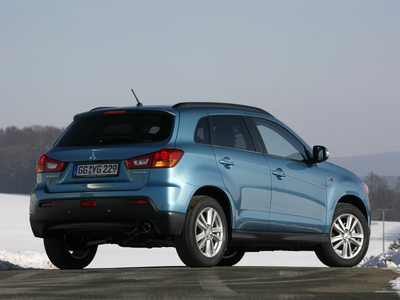 2011 Mitsubishi ASX 2 2011 Mitsubishi ASX Vehicle  More Energy Efficient and Upgraded with New Car Accessories