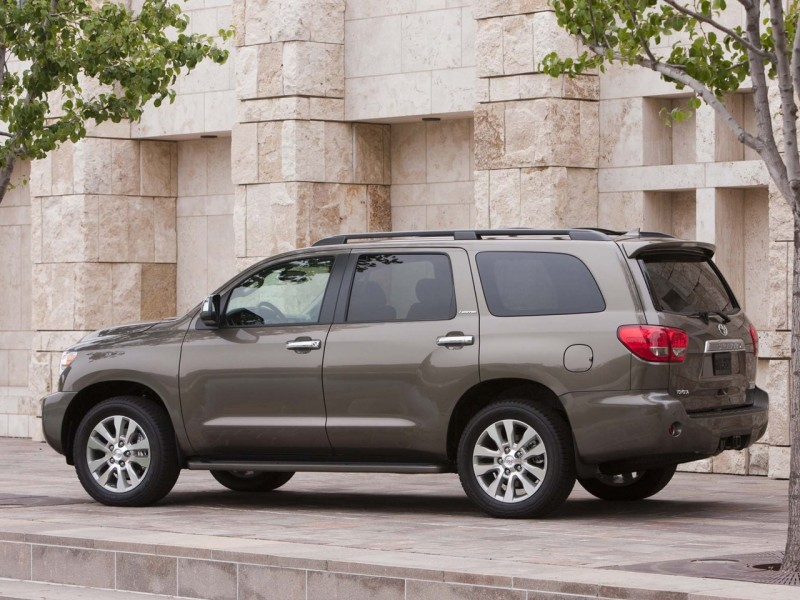 2011 Toyota Sequoia 8 2011 Toyota Sequoia with Easy to Care Car Upgradation Kit