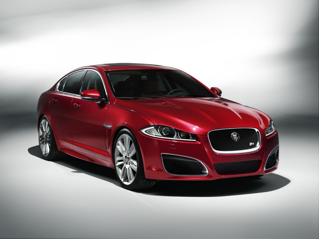 2012 Jaguar XFR 1 Jaguar XF Model with Energy Efficient Power train and Automatic Transmission Tool