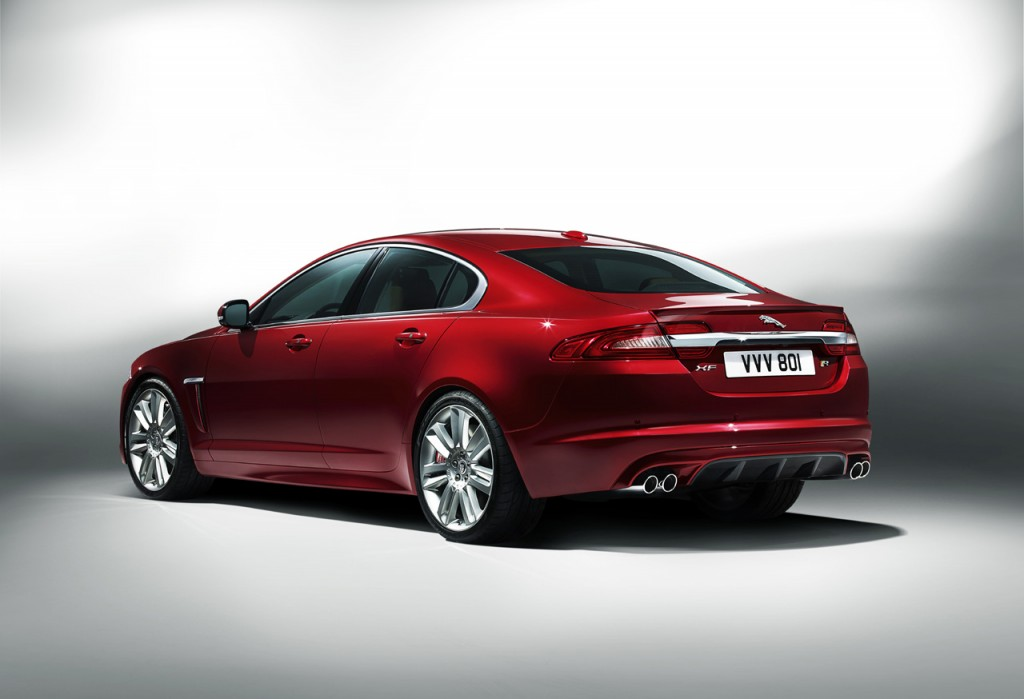 2012 Jaguar XFR 4 Jaguar XF Model with Energy Efficient Power train and Automatic Transmission Tool